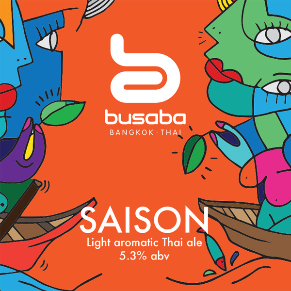 Busaba Beer - Light Aromatic Thai Ale