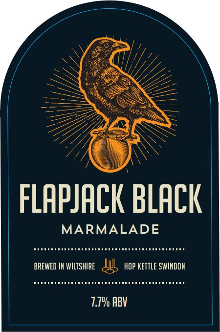 Flapjack Black Marmalade