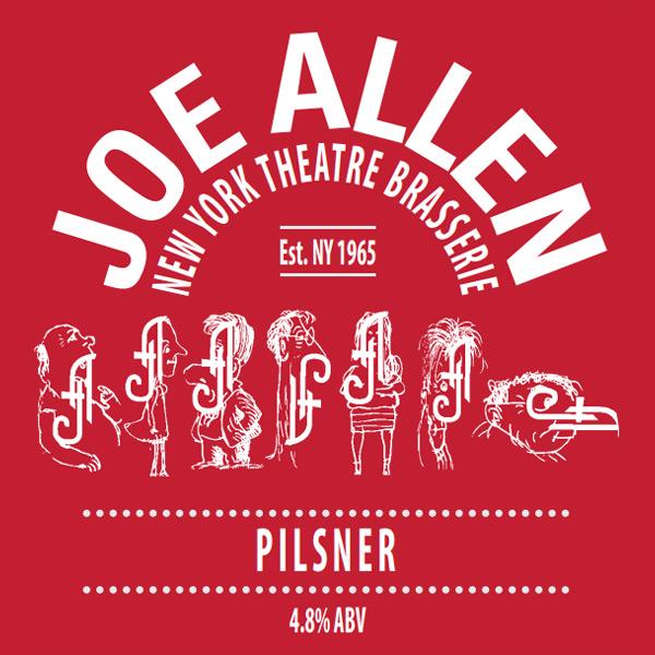 Joe Allen Pilsner beer