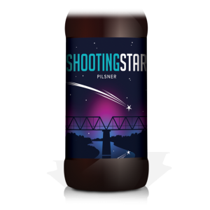 Shooting Star beer from Swindon, UK brewery